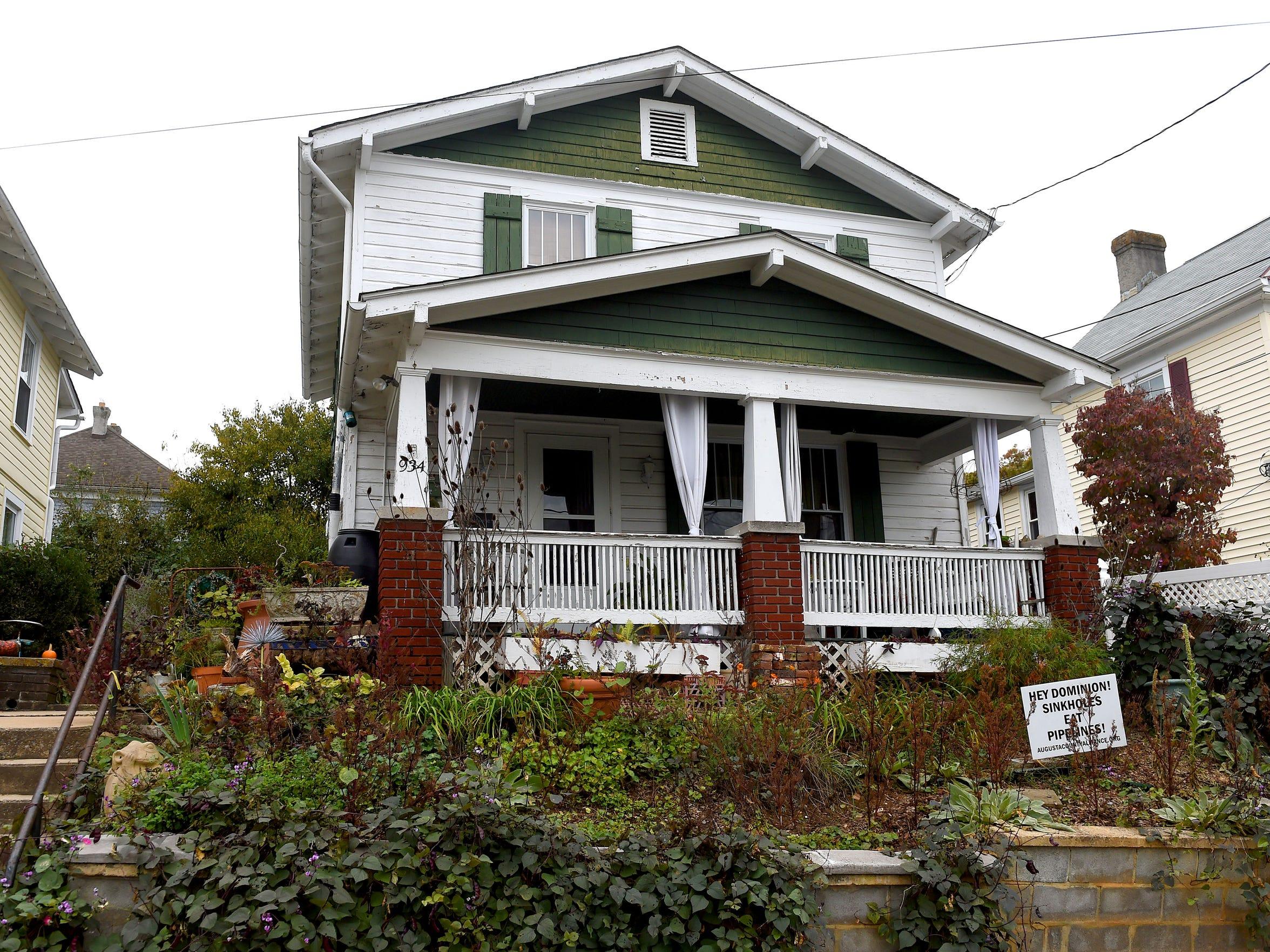 Henri Bowman's home where she hosts visitors to Staunton