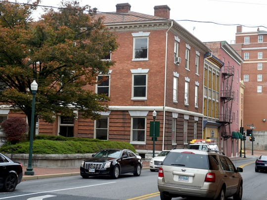 The Echols building located next to the Augusta County Courthouse in downtown Staunton. Photo taken on Monday, Nov. 14, 2016.