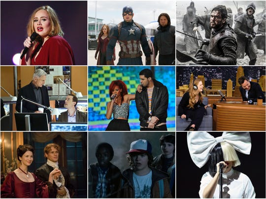 Fans determine all 64 of the People's Choice Awards