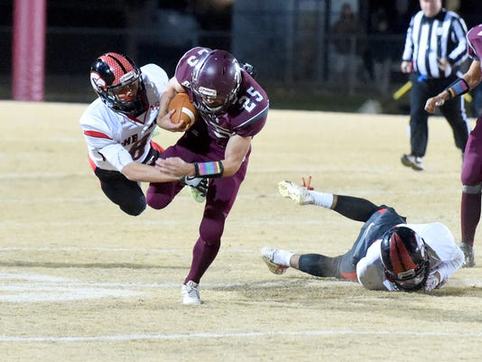 Stuarts Draft vs East Rockingham football