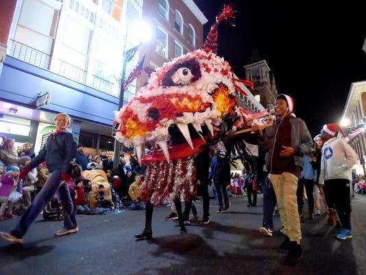 Staunton Christmas Parade