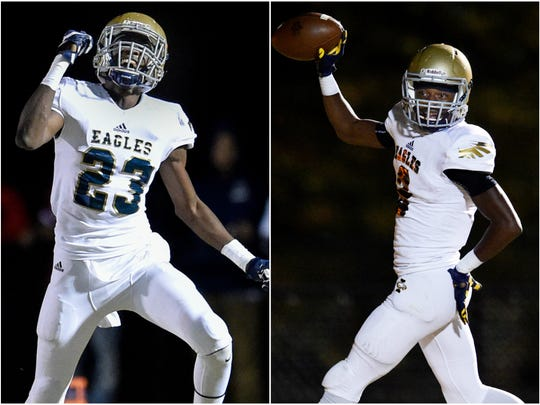 Independence sophomore receivers Kendrell Scurry (left) and T.J. Sheffield (right) have re-opened their recruitments.
