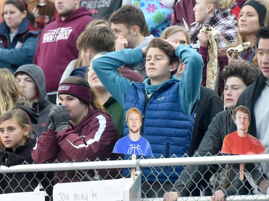 Stuarts Draft fans react as Richlands takes the lead