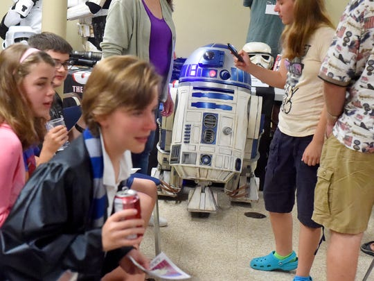 R2-D2 was a fan favorite at Valley Comic Con at Augusta