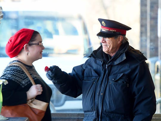 Many have come to recognize the Salvation Army's Sgt.