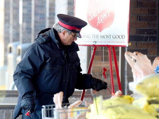 Sgt. Maj. Darrell Jones with the Salvation Army continues