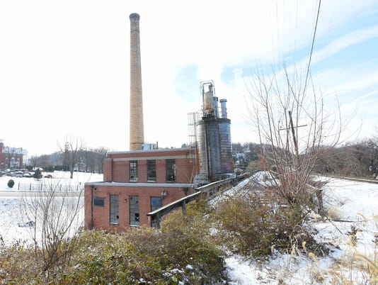 Old steam plant on Richmond Road