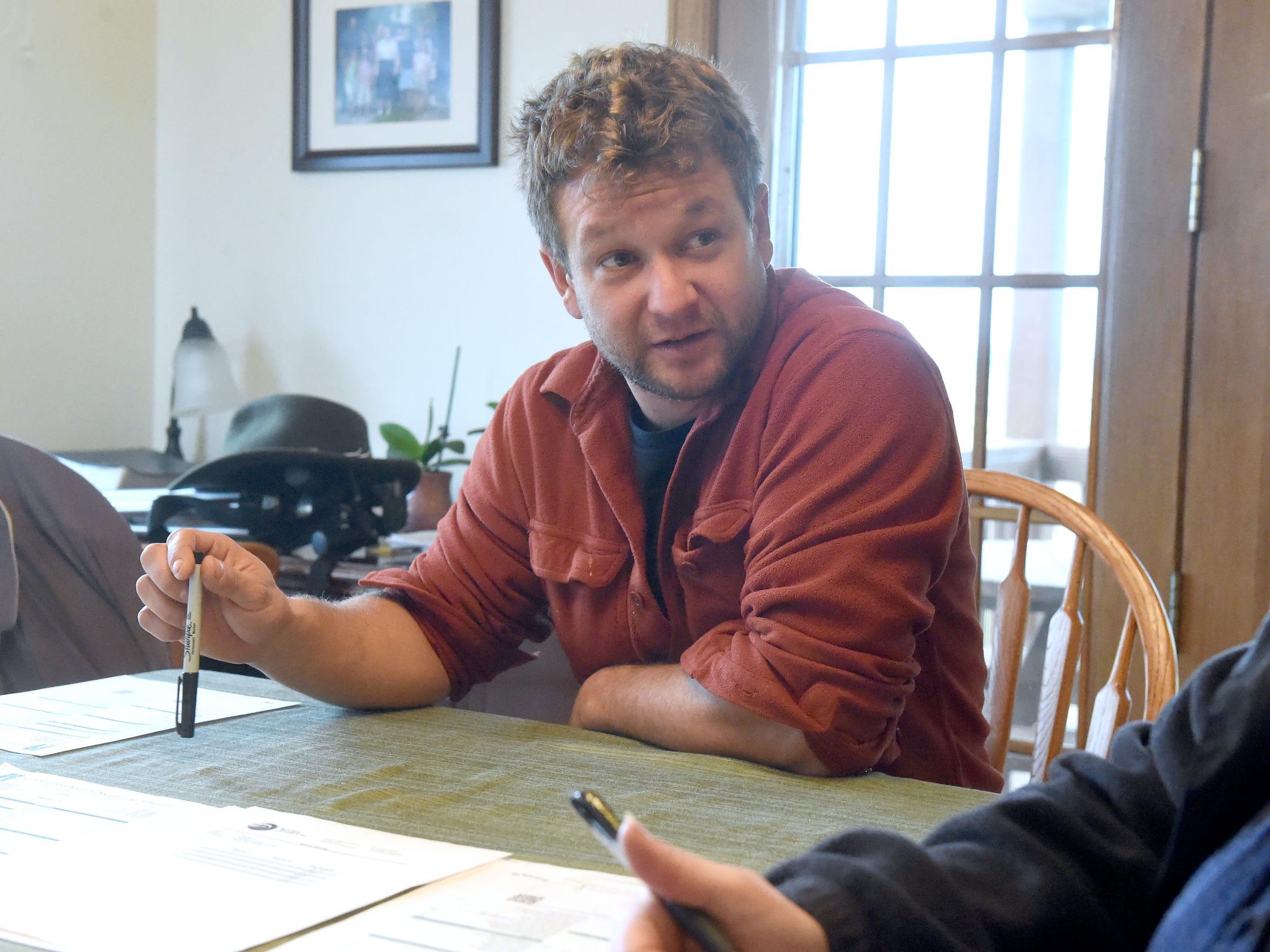 Charlottesville farmer Brian Walden talks about the