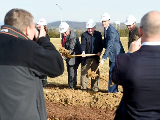 Groundbreaking at Mill Place