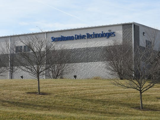 Sumitomo Drive Technologies at Mill Place Commerce Park in Verona.