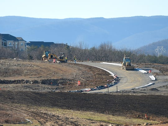 Construction continues at Myers Corner in Fishersville