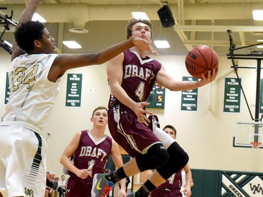 Stuarts Draft at Wilson Memorial boys basketball