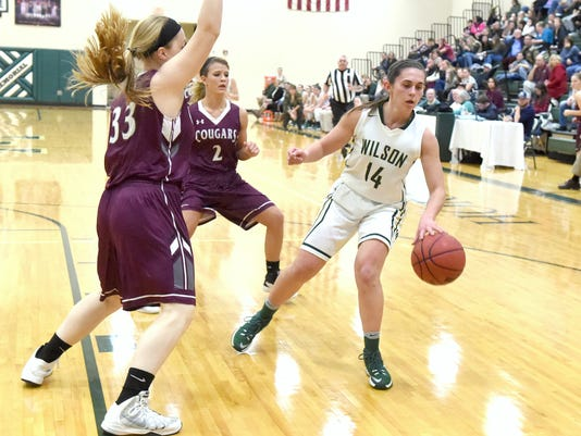 Stuarts Draft at Wilson Memorial girls basketball