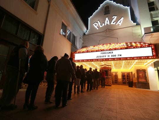 The renovation of the historic Plaza Theatre was done