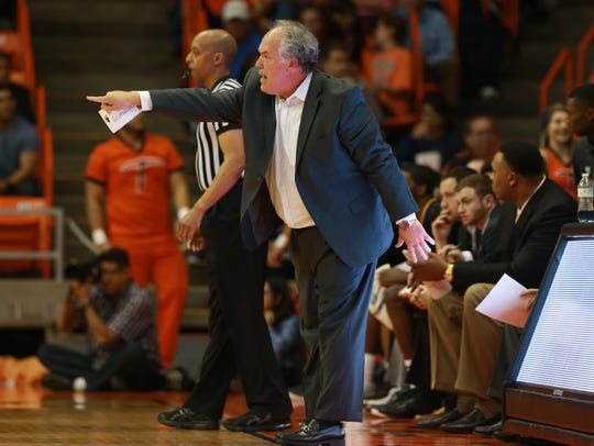 Southern Miss coach Doc Sadler, a former UTEP basketball