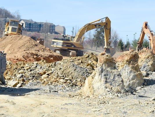 Frontier Center construction