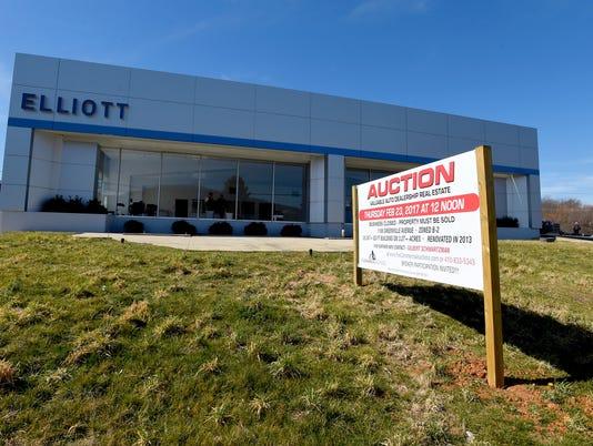 Elliott Auto Group property auction