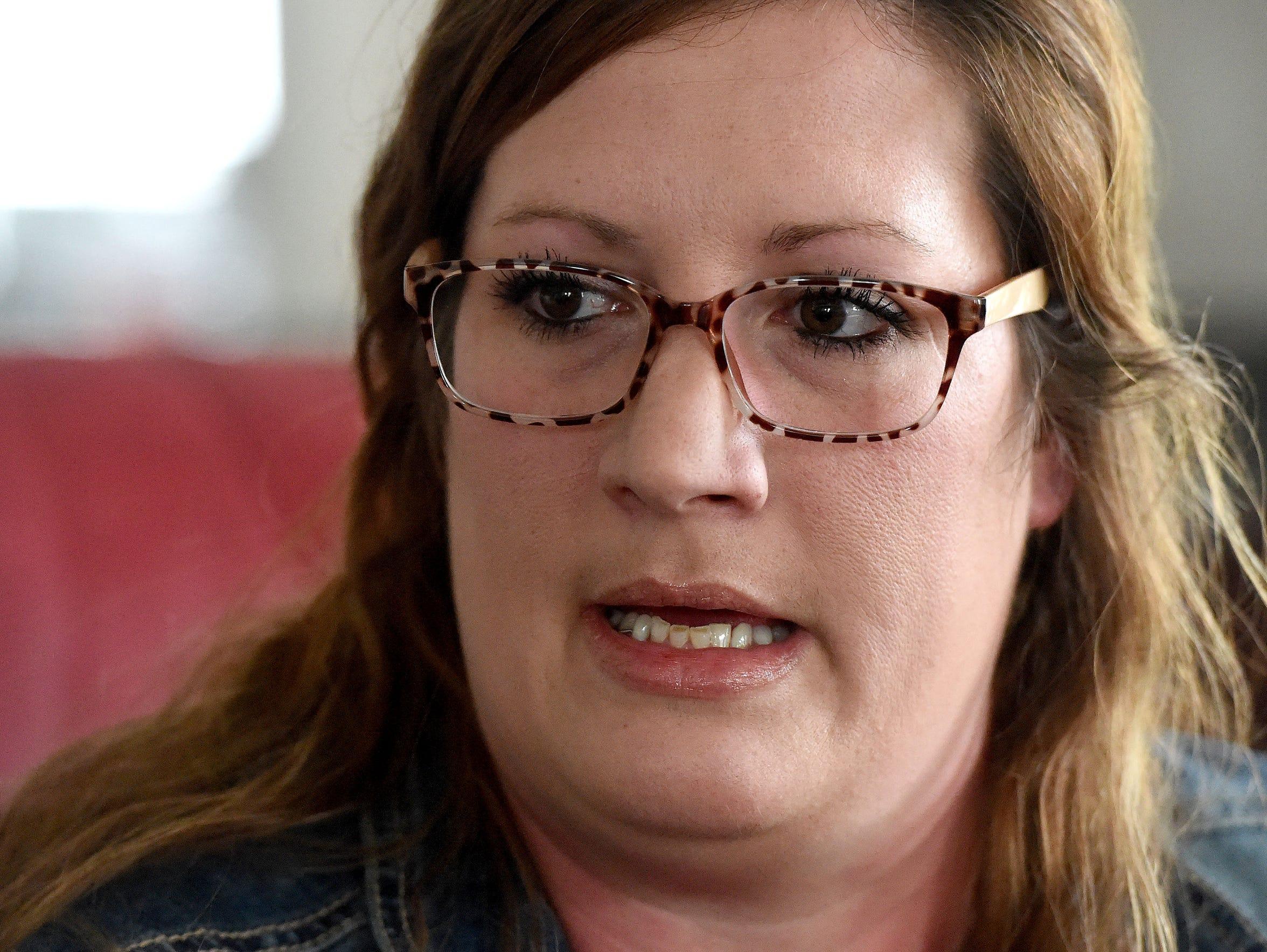 A registered nurse, Amber Rexrode of Staunton shares