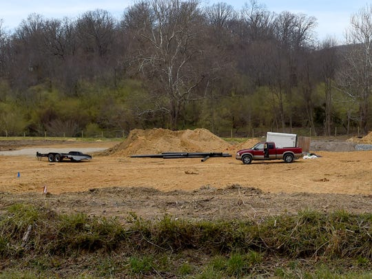 Work continues on property now owned by Staunton Plant