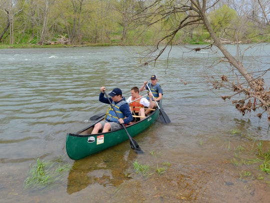 One boat at a time, advanced environmental science