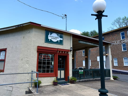 Lewis Creek Market in Staunton has offered itself as