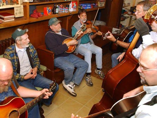 Lewis Creek Market - Tuesday night bluegrass jams