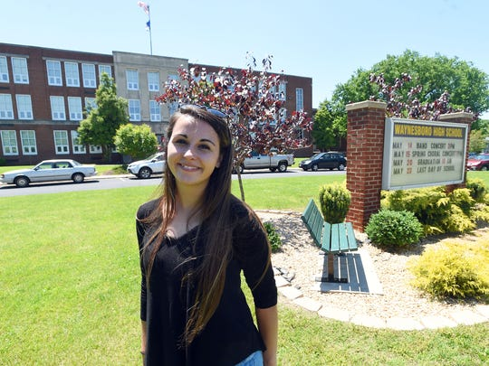 Senior Ashley Bukoskey takes pride in her time as s student at the Waynesboro High School, but also looks forward to pursuing a degree in mechanical engineering in college.