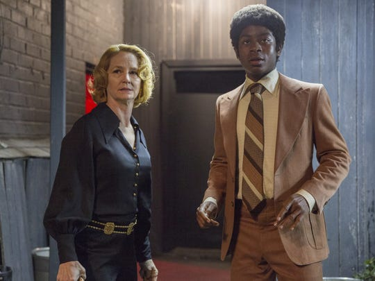 Melissa Leo plays a comedy club owner and RJ Cyler