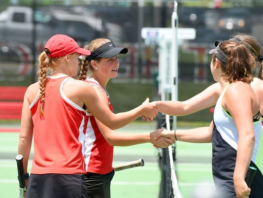 Riverheads' girls doubles team falls in Group 1A  championship