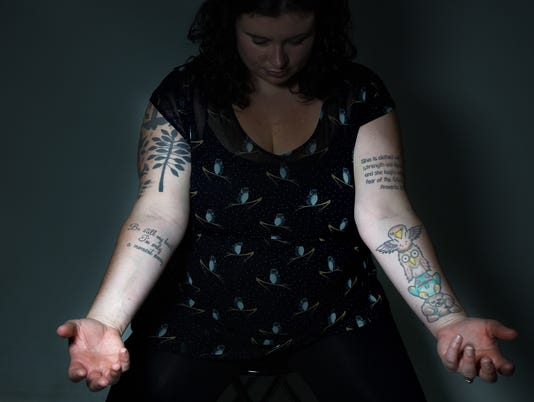 Special meaning of Laura Peters tattoos
