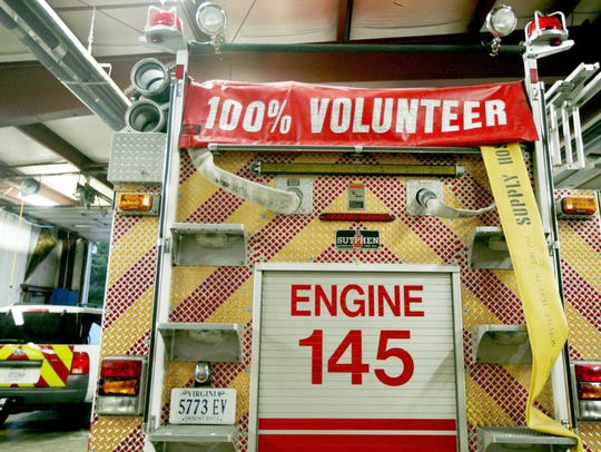 Fire Company 14 in Swoope is made up of 30 volunteer