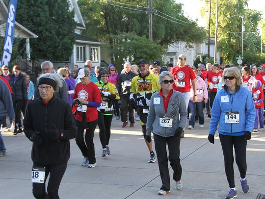 The first re:TH!NK Addiction Run 5K drew more than