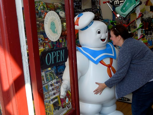 Stay Puft Marshmallow Man comes to Staunton
