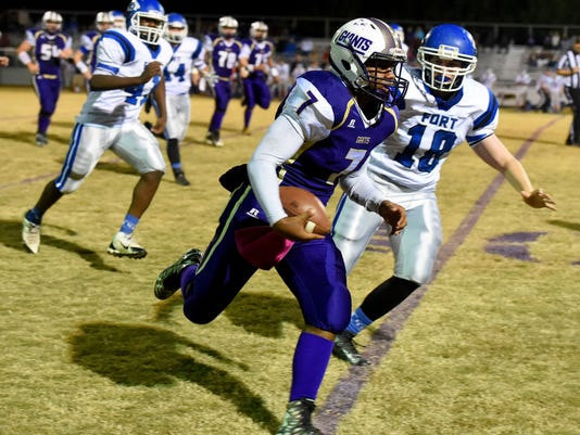 Fort Defiance at Waynesboro football