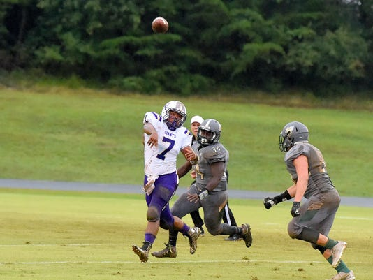 Waynesboro at Wilson football