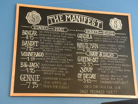The Manifest offers itself as a menu for those visiting