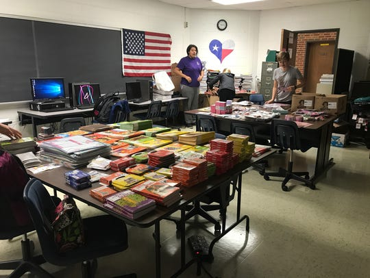 Lee High is collecting school supplies for Waller High