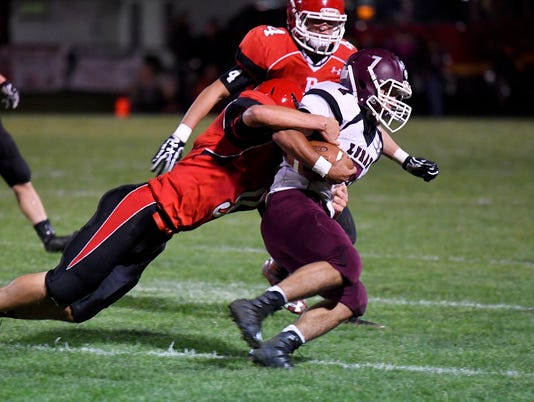 Luray at Riverheads football