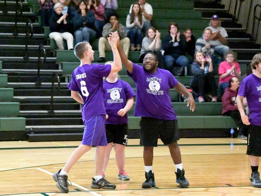 Waynesboro vs. R.E. Lee -- Unified Basketball finale