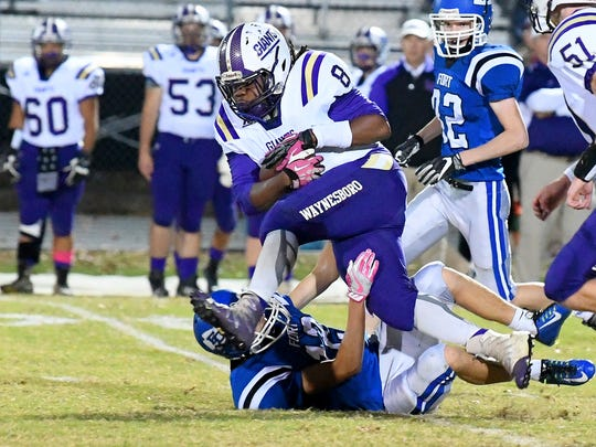 Power back Alijah Braxton and Waynesboro will be on the road Aug. 24 at Stuarts Draft for their season opener.