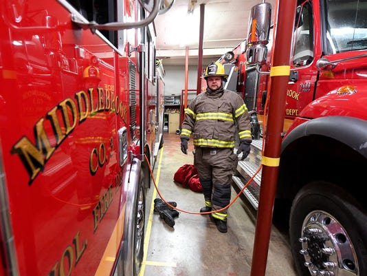 Volunteer Firefighters - Frank Dull