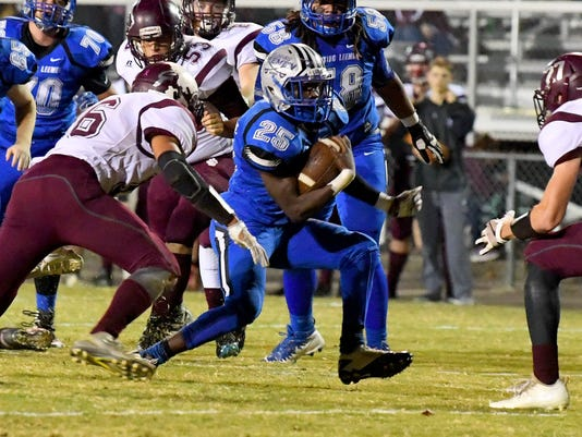 Stuarts Draft at R.E. Lee football
