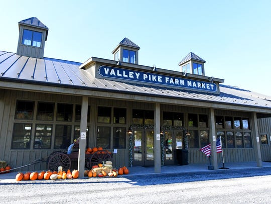Valley Pike Farm Market located on U.S. 11 in Weyers