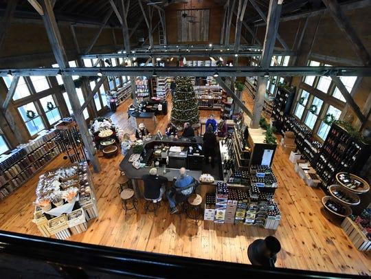 Inside Valley Pike Farm Market in Weyers Cave.