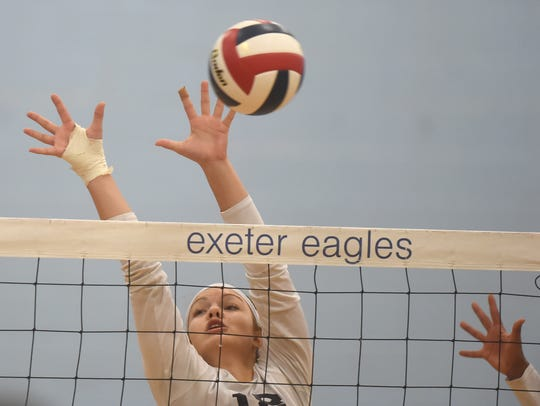 West York's Trilby Kite in action during the team's