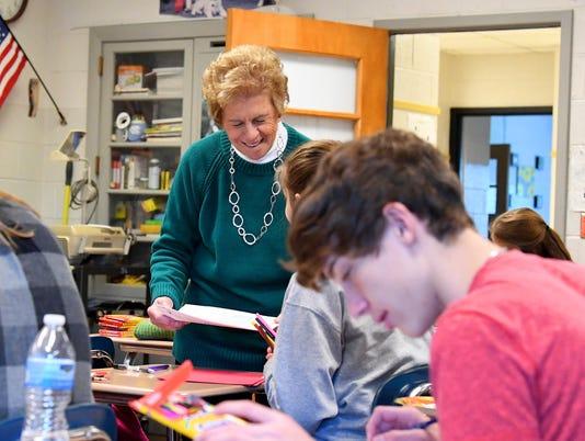 Jo Field - teacher at Buffalo Gap