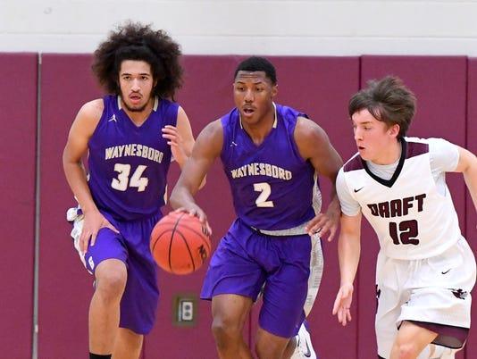 Waynesboro at Stuarts Draft - boys basketball