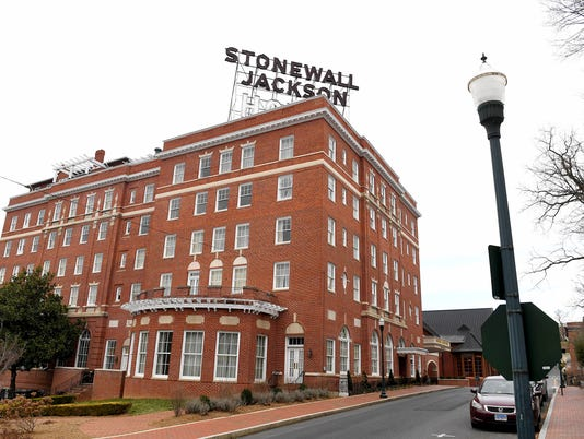 Stonewall Jackson Hotel renovations