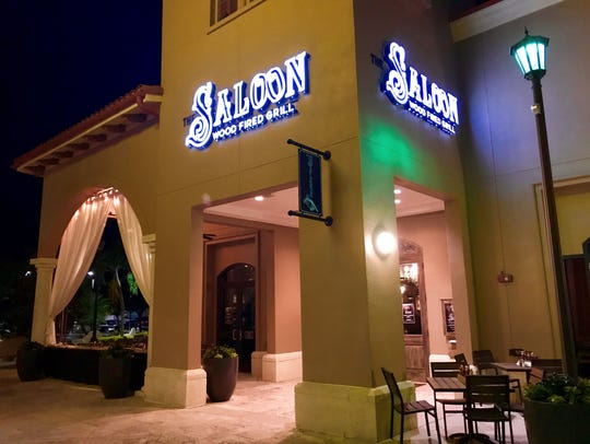 The Saloon, a wood-fired grill, opened Dec. 15, 2017,