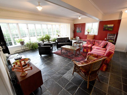 The play room at Gaie Lea, located on Bells Lane in